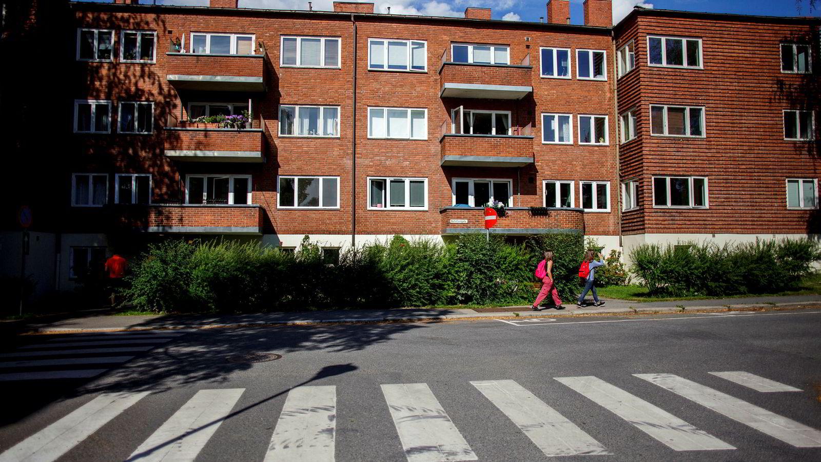 Under valgkampen i 2015 foreslo Oslo Arbeiderparti å innføre eiendomsskatt med et bunnfradrag på fire millioner kroner. Ingen andre kommuner har så høyt bunnfradrag. Bildet er fra Hafrsfjordgata 31 i Oslo.