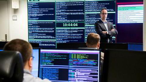 Håkon Bergsjø er seksjonsleder for Norges nasjonale cybersenter – Norcert sitt operasjonssenter i Oslo. Det er den operative delen av Nasjonal sikkerhetsmyndighet (NSM) som håndterer alvorlige dataangrep mot samfunnskritisk infrastruktur og informasjon.
