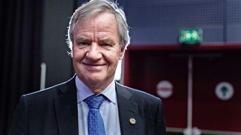 Konsernsjef Bjørn Kjos i Norwegian. Foto: Aleksander Nordahl