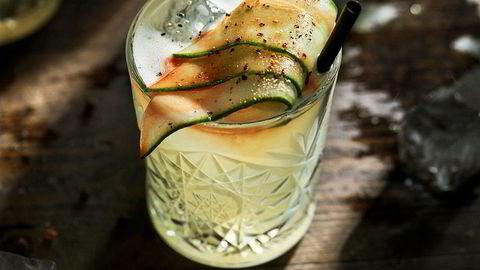 God kombo. Eieren av ginbaren Chair «ble slått av hvor utrolig godt agurken kompletterte ginen».