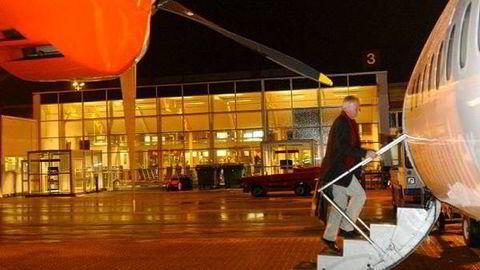 Nå får Kjevik flyplass konkurranse. Foto:
