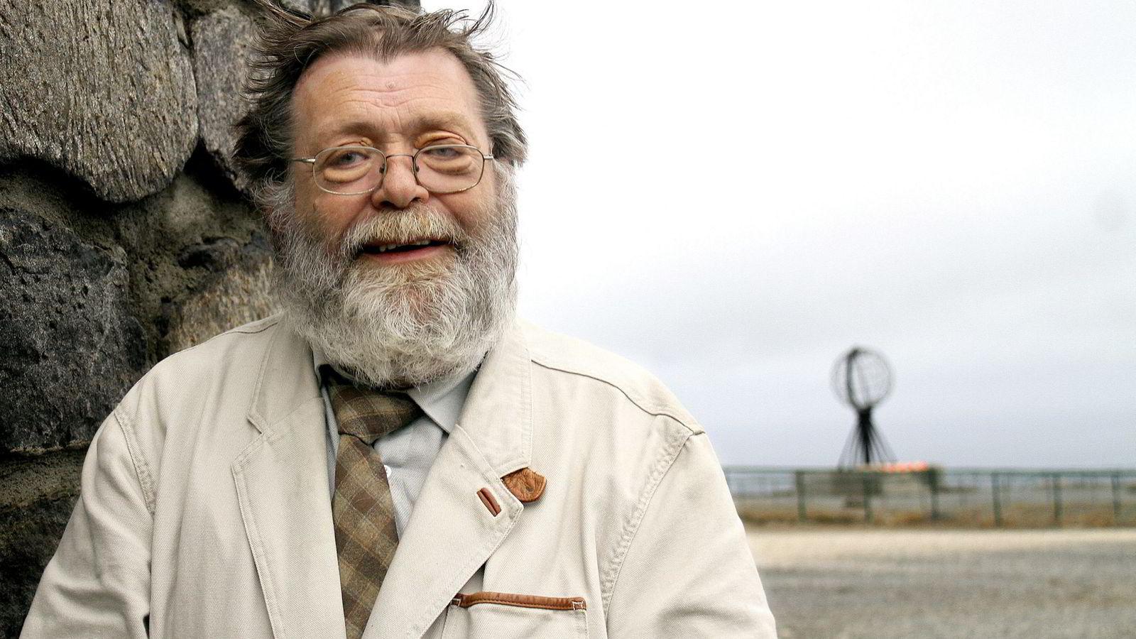 Professor Frank Aarebrot ved Universitetet i Bergen.