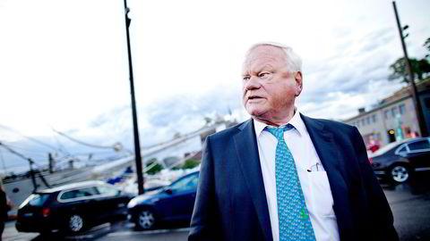 PÅ HUGGET. John Fredriksen kjøper seg opp i flytende gasstransport kort tid etter å ha kvittet seg meg Golar LNG. Foto: Ida von Hanno Bast