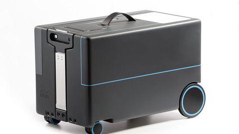 Protoype på selvkjørende robotkoffert fra Nua Robotics. Foto: Nua Robotics
