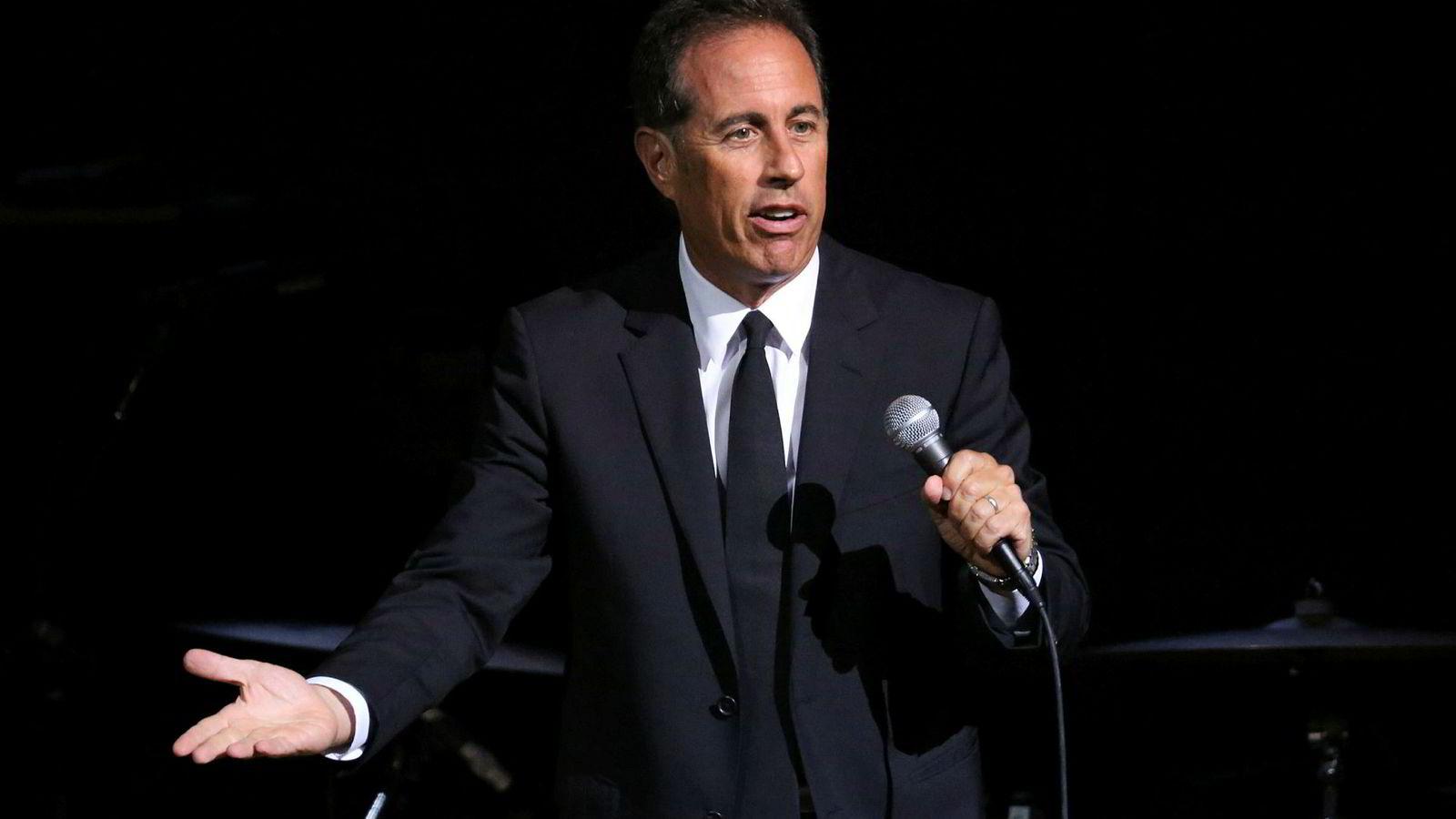 Jerry Seinfeld er en av verdens mest populære komikere.