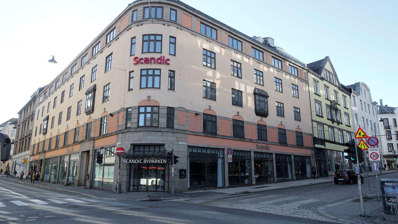 Scandic Byparken i Christies gate i Bergen serverer en suveren frokost.