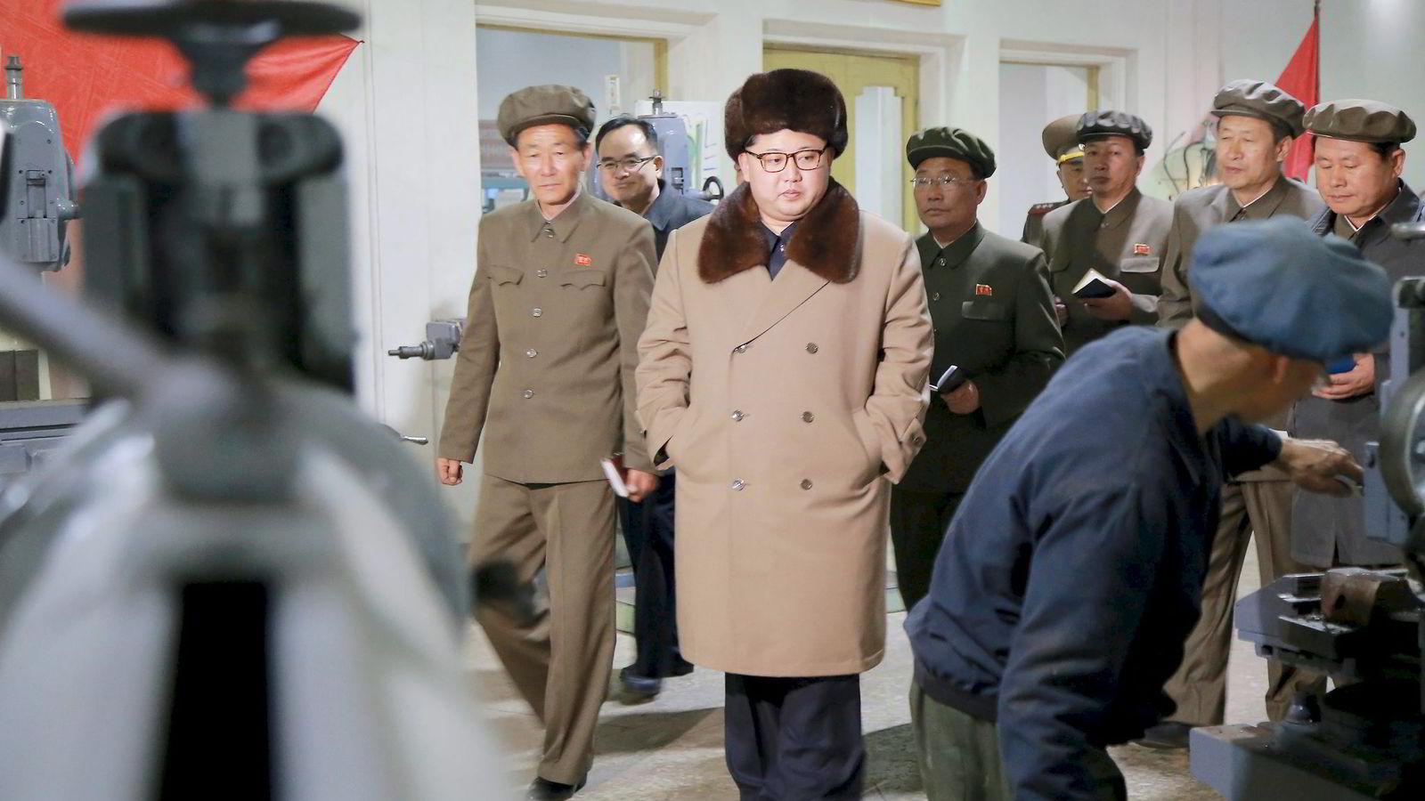 Det er bare gjennom forhandlinger man kan finne ut hvor langt Nord-Korea er villig til å strekke seg, skriver Sverre Lodgaard. Foto:  Reuters/NTB Scanpix