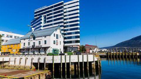 DRØMMESTART. Sjakk-OL bidro til drømmestart for Clarion Hotel The Edge i Tromsø. Ingen andre byer hadde en bedre hotellsommer. Foto: Marius Fiskum
