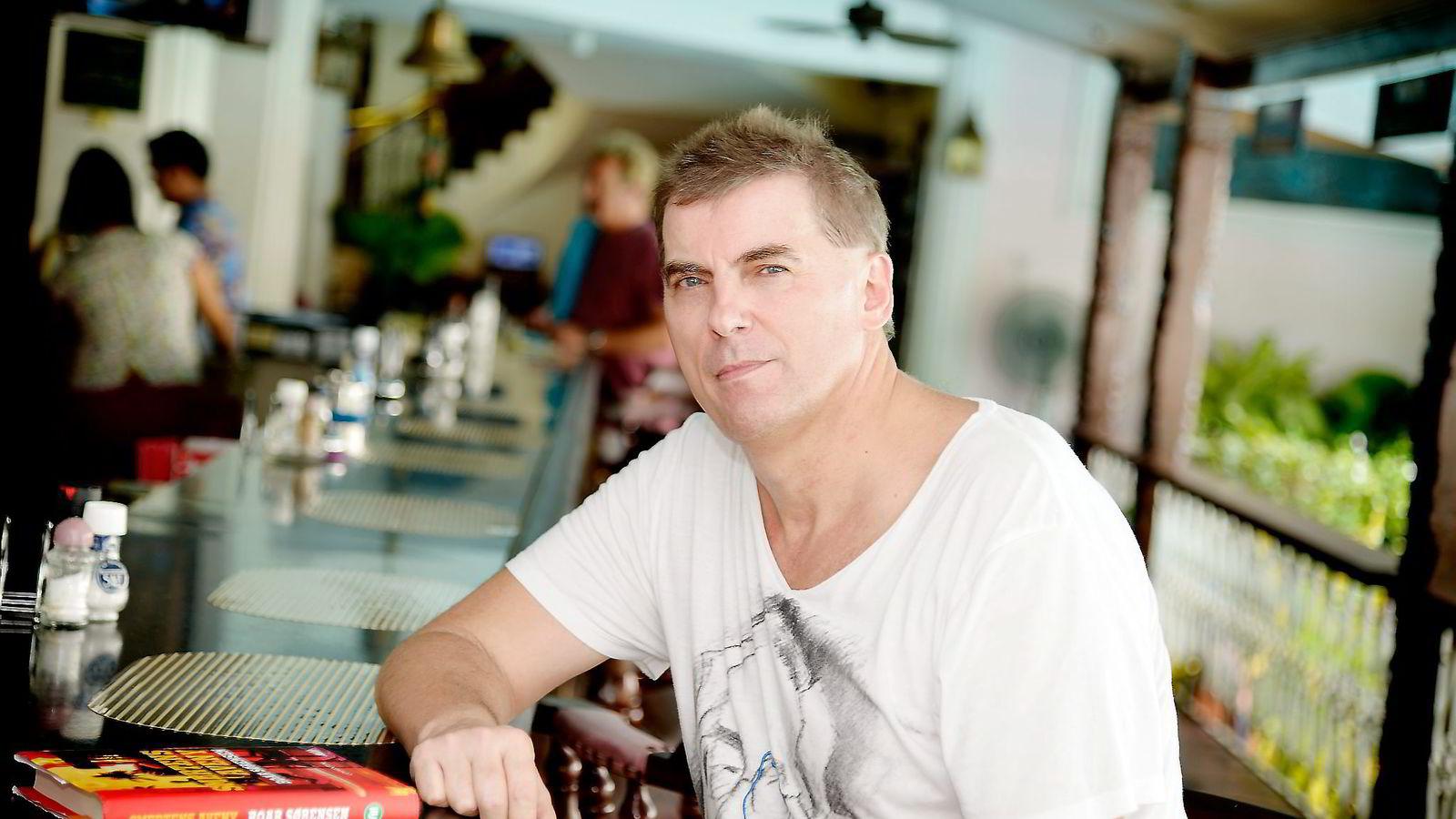 Forfatter Roar Sørensen er nominert til Riverton-prisen. Men medlem av Forfatterforeningen blir han ikke.