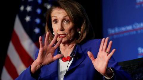 Speaker i Representantenes hus og mangeårig politiker for det demokratiske partiet, Nancy Pelosi.