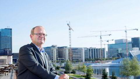 Konkursveksten innen detaljhandel har roet seg mens bygg&anlegg begynner å røre på seg igjen, mener Per Einar Ruud i kredittanalyseselskapet Bisnode.