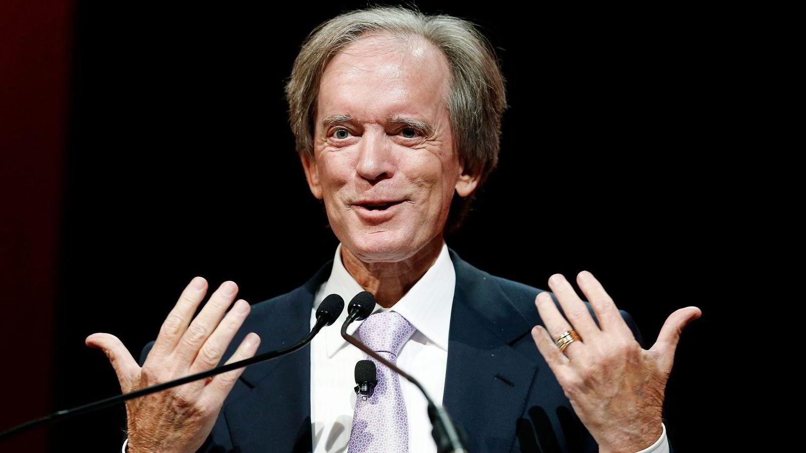 I stedet for økonomisk vekst vil resultatet være stagnasjon og forvitring, mener forvalteren Bill Gross om lavrentepolitikken til verdens sentralbanker. Foto: Jim Young/Reuters/NTB Scanpix