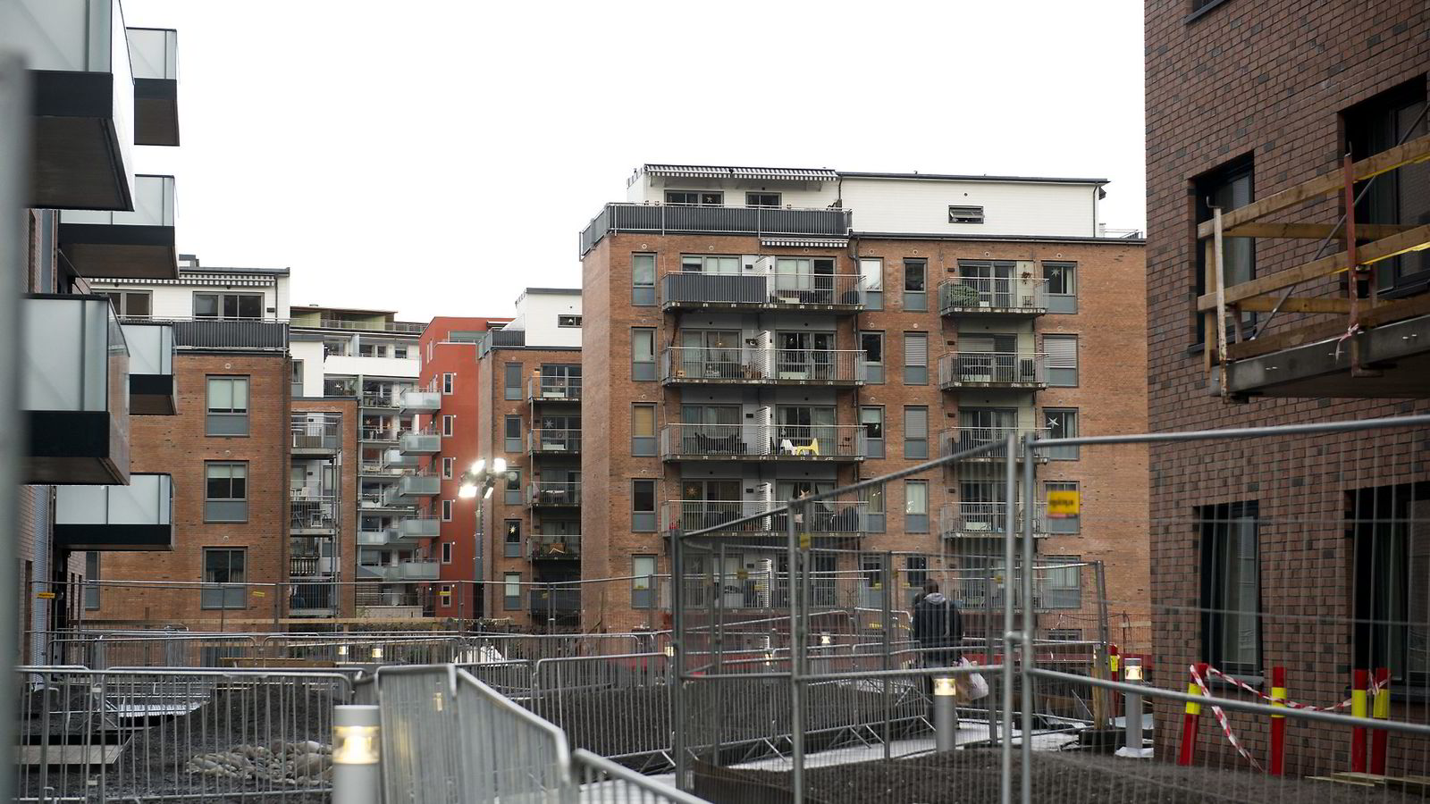 Bildet viser Obos-leiligheter i Kværnerbyen.