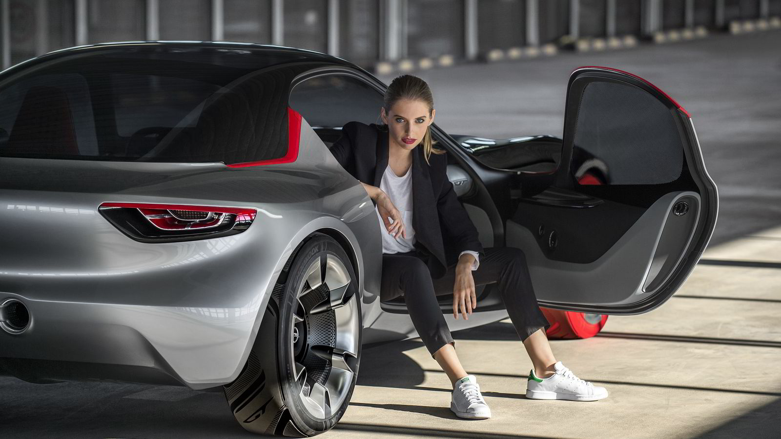 Opel GT Concept debuterer i Geneve i starten av mars. Alle foto: Opel