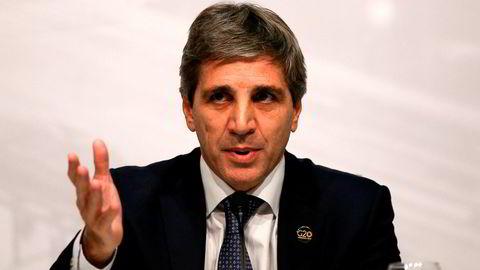 Det ble en kort karriere som Argentinas sentralbanksjef for Luis Caputo.