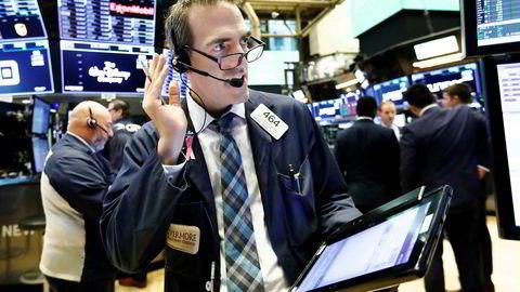 Denne høsten har vært svært ruglete for de amerikanske børsene, men mandag ettermiddag var det duket opp for en real børsfest.