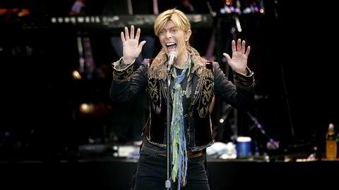 David Bowie var en av verdens mest suksessrike artister. Han døde i 2016.