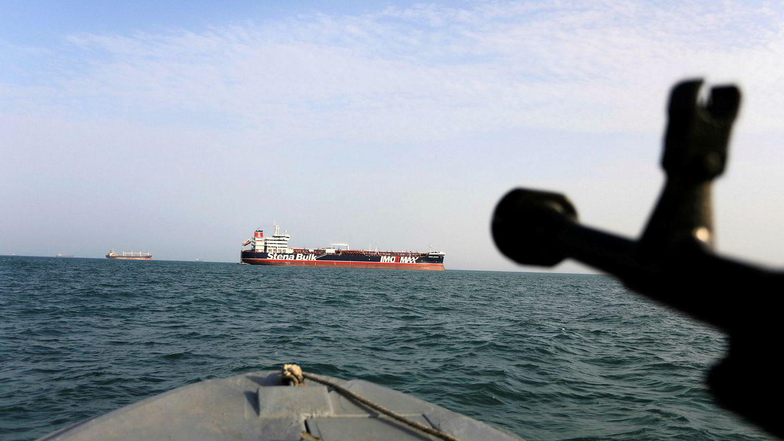 Under konflikten i Persiabukten tok Iran den britiske oljetankeren «Stena Impero» i arrest.
