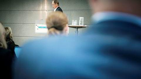 Investor Øystein Stray Spetalen mente mye om styrearbeid på det årlige forumet til Norsk utvalg for eierstyring og selskapsledelse (NUES).