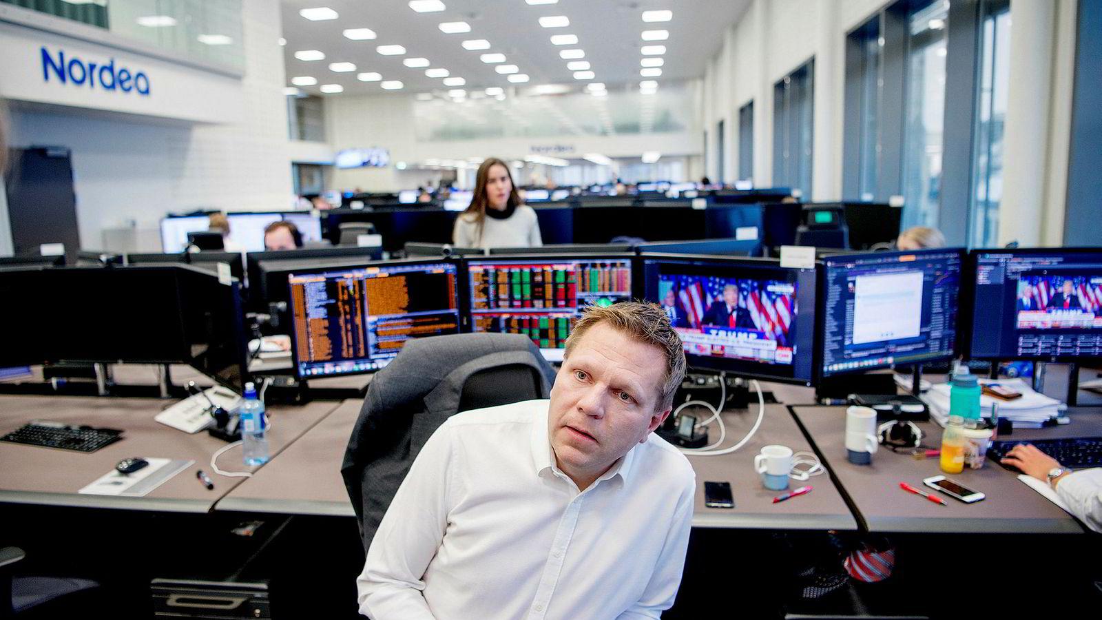 Investeringsdirektør Leif-Rune Rein i Nordea Liv.