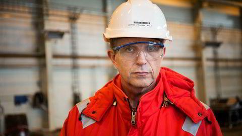 Atle Tranøy, konserntillitsvalgt for Fellesforbundet i industrikonsernet Aker, er av flere tillitsvalgte som er skeptisk til samarbeid mellom Ap og MDG.