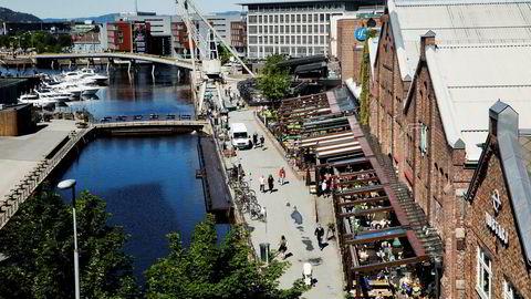 Solsiden i Trondheim, der Solsiden as driver med fremleie av restaurantlokaler.