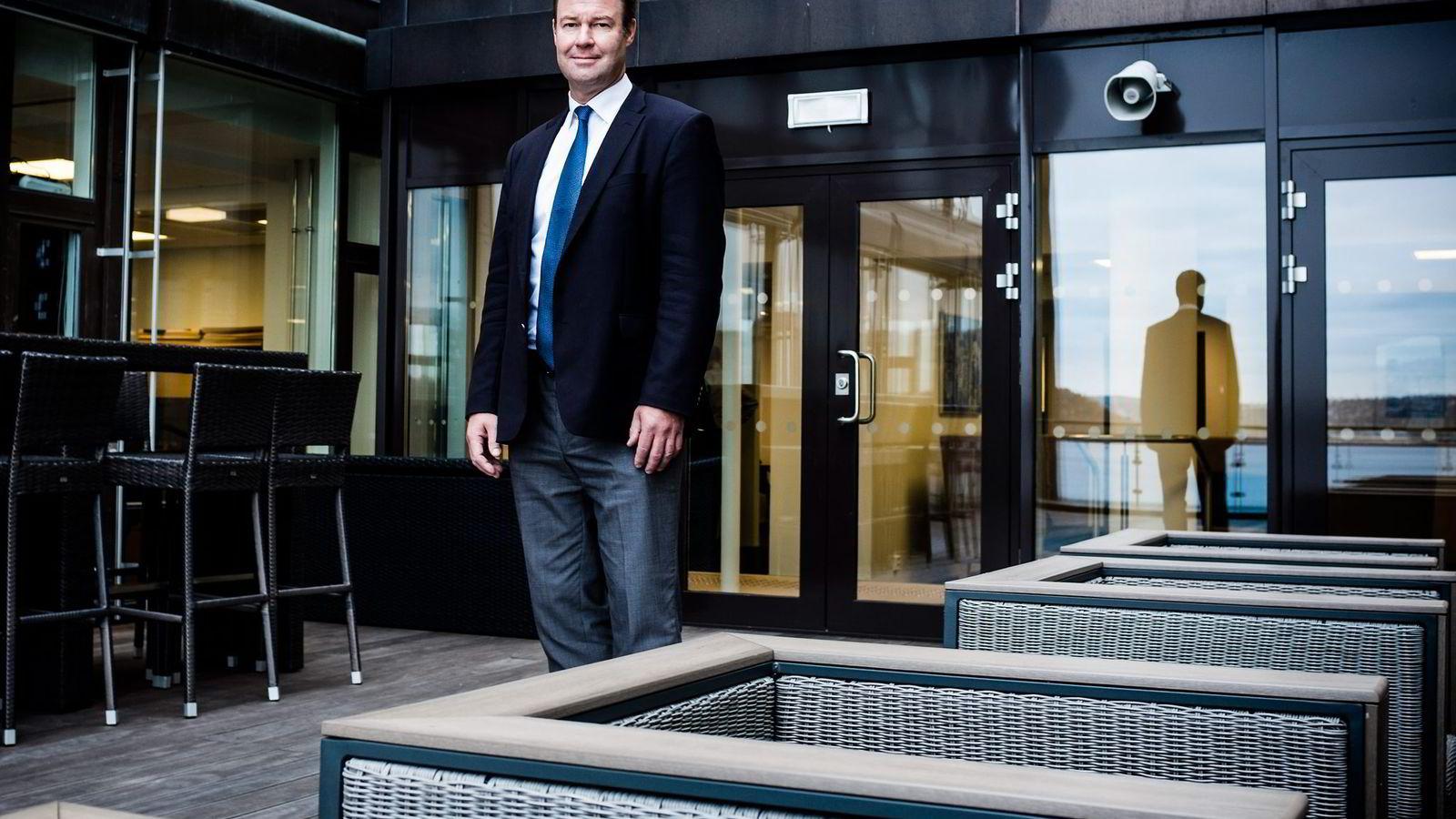 Danske Bank landssjef Trond F. Mellingsæter tror bankenes fremtid vil endre seg raskt