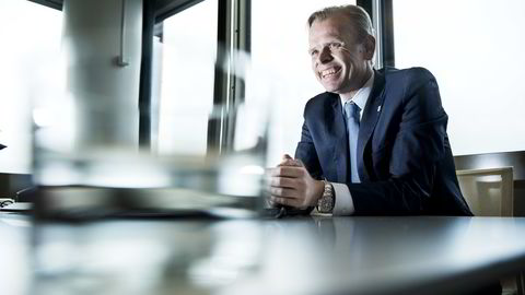 Konsernsjef Svein Tore Holsether i Yara. Foto: Klaudia Lech