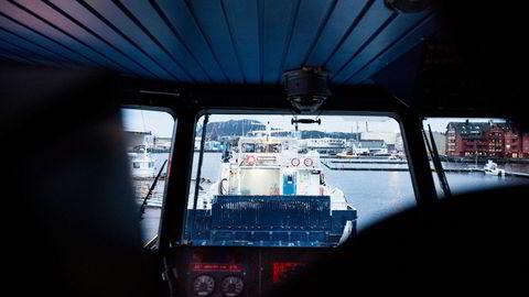 Fjord1 har hatt resultatforbedring de siste årene, og det gjør selskapet interessant for finansielle og industrielle eiere. Investeringsfondet Ferd skal ha blitt kontaktet i en tidlig fase. Foto: Skjalg Bøhmer Vold