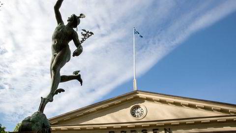 Oslo Børs stiger fra start torsdag. Foto: Aleksander Nordahl