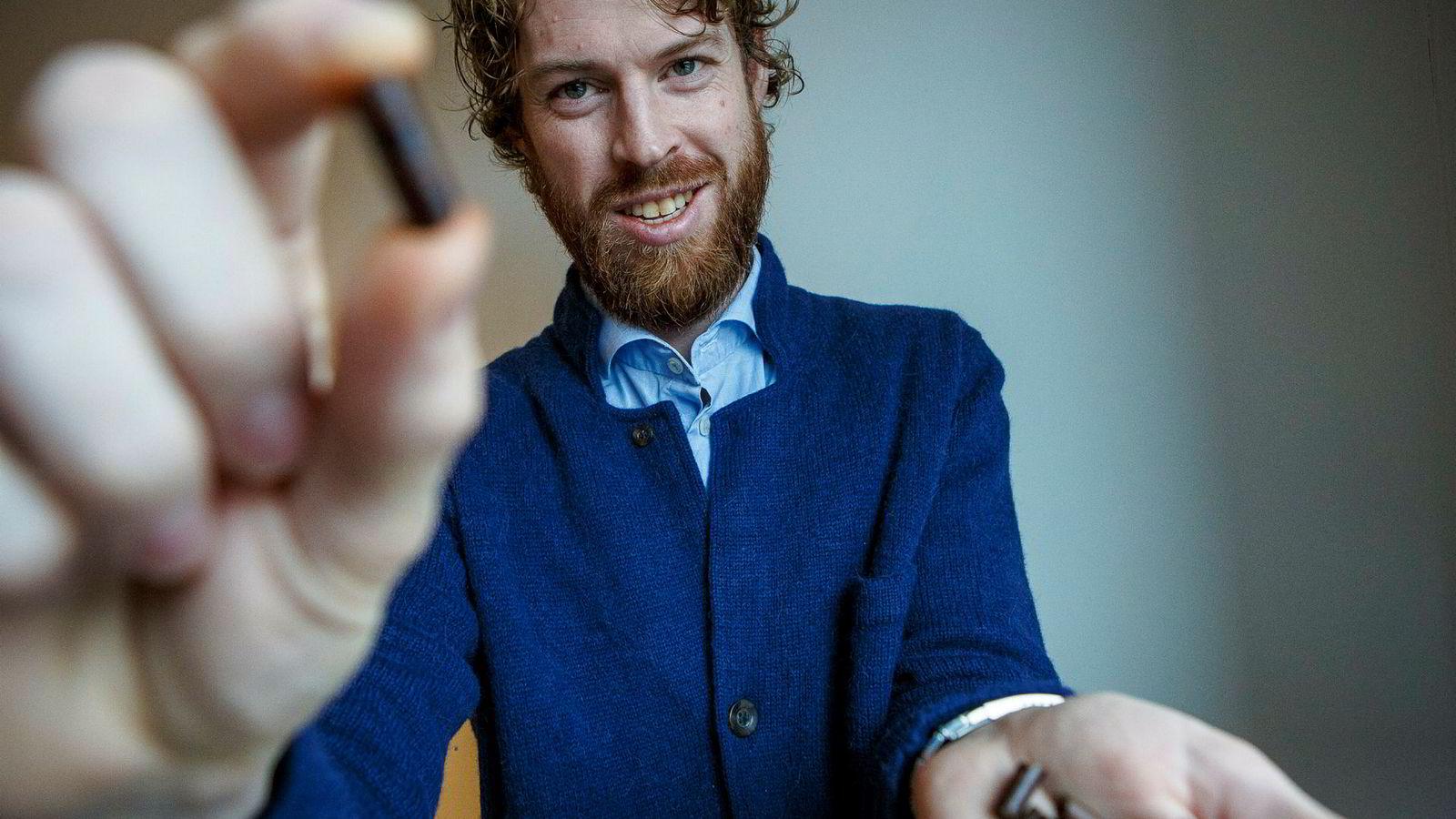 Administrerende direktør for Arbaflame Håkon Knappskog tror fremtiden ligger i fornybar energi.