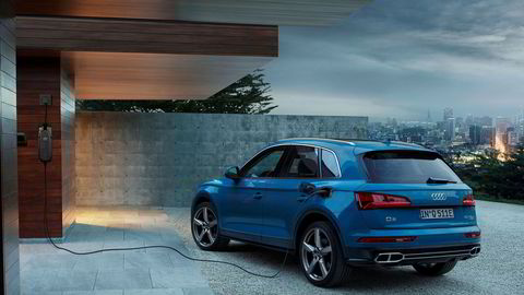 Audi Q5 kommer i sommer som ladbar hybrid.