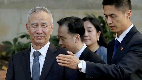 En kinesisk regjeringsdelegasjon, ledet av visestatsminister Liu He, har startet handelsforhandlinger i USA. Kina har satt inn rekordstore ordrer på amerikanske landbruksprodukter, blant annet svinekjøtt og soyabønner i forkant av forhandlingene.