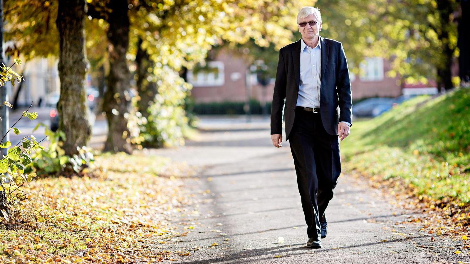 – Vi lever fortsatt i oljeprisboblen, sier Nordea-økonom Steinar Juel, som blir trist av å lese regjeringens budsjettforlik. Foto: Ida von Hanno Bast