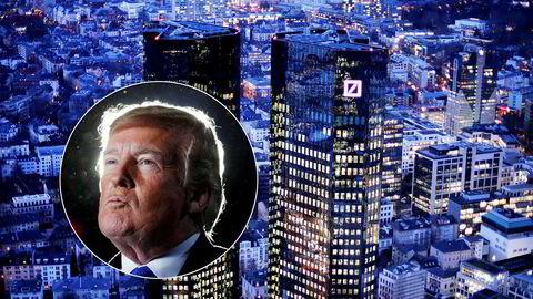 Den tyske storbanken Deutsche Bank lånte ut rundt to milliarder dollar til Donald Trump og hans eiendomsprosjekter i de to tiårene opp til han ble valgt til USAs president i 2016, i følge New York Times.
