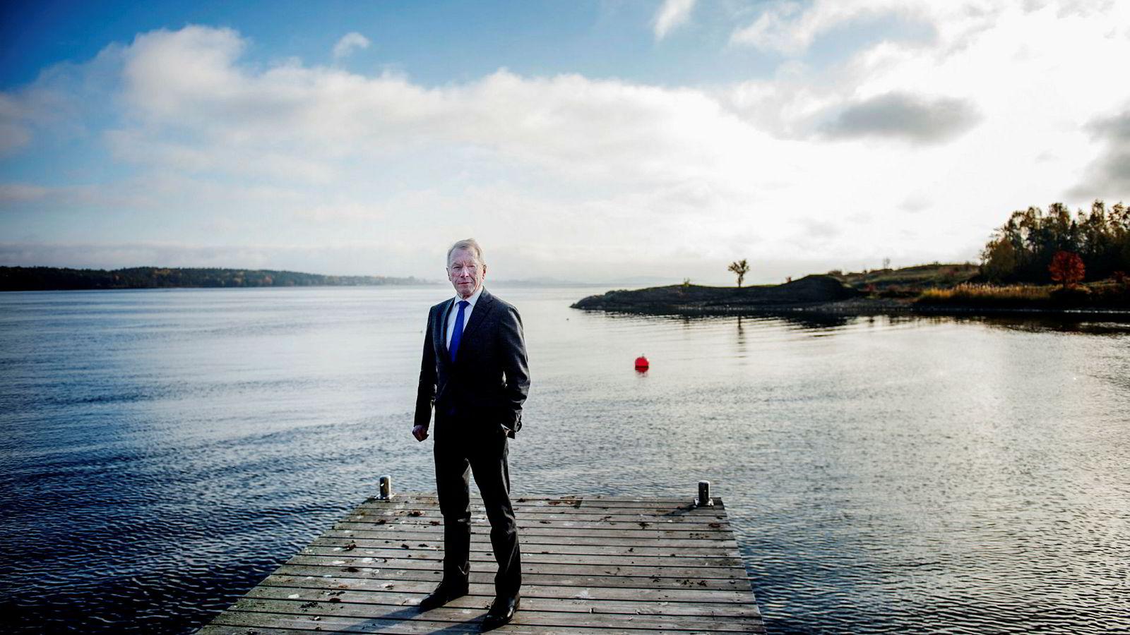 Investor og næringslivsleder Jens Ulltveit-Moe har vært igjennom mange restruktureringer både som aksjonær og långiver. Han tror Fred. Olsen Energy vil få penger fra sin hovedeier.