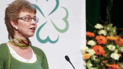 Leder i Nei til EU Kathrine Kleveland. Foto: Jan Kåre Ness /