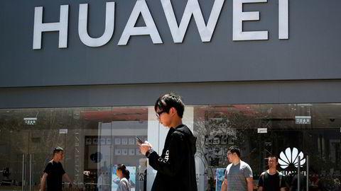 Huawei planlegger store kutt i arbeidsstokken i USA, melder Wall Street Journa