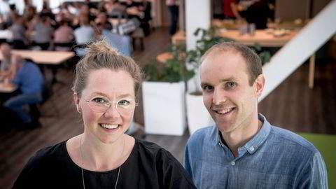 Mads Simonsen og Silje Solberg
