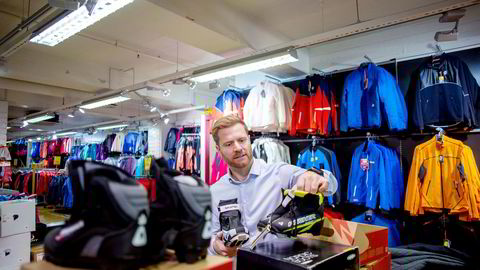 Like over nyttår starter Gresvig-sjef Lars Kristian Lindberg og hans medarbeidere med å plukke ned skiltene til den tradisjonsrike kjeden G-Sport.