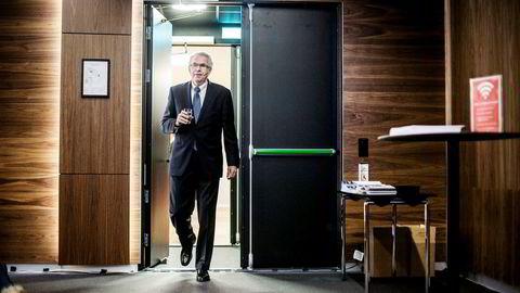 Konsernsjef Tore Torvund i Rec Silicon legger torsdag morgen frem selskapets resultater for andre kvartal
