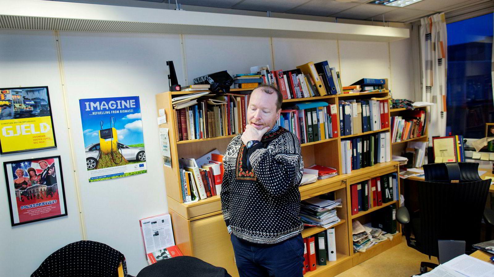 Christian Anton Smedshaug daglig leder i Agri Analyse er opptatt av nasjonale verdikjeder.