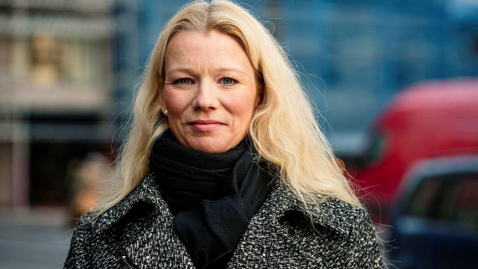 Sjeføkonom i Handelsbanken Kari Due-Andresen er i Storbritannia denne uken for å snakke med kunder om brexit.