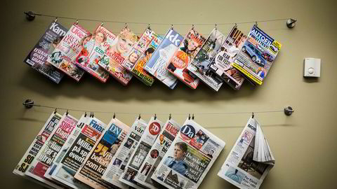 En av fem har lite tiltro til mediene.