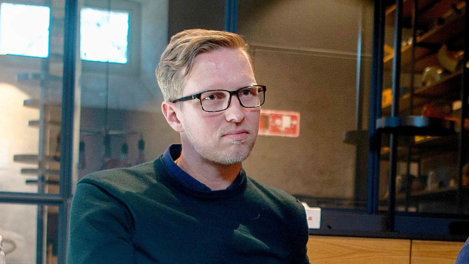 Kommunikasjonssjef Henrik Gustav Faller i Remarkable.