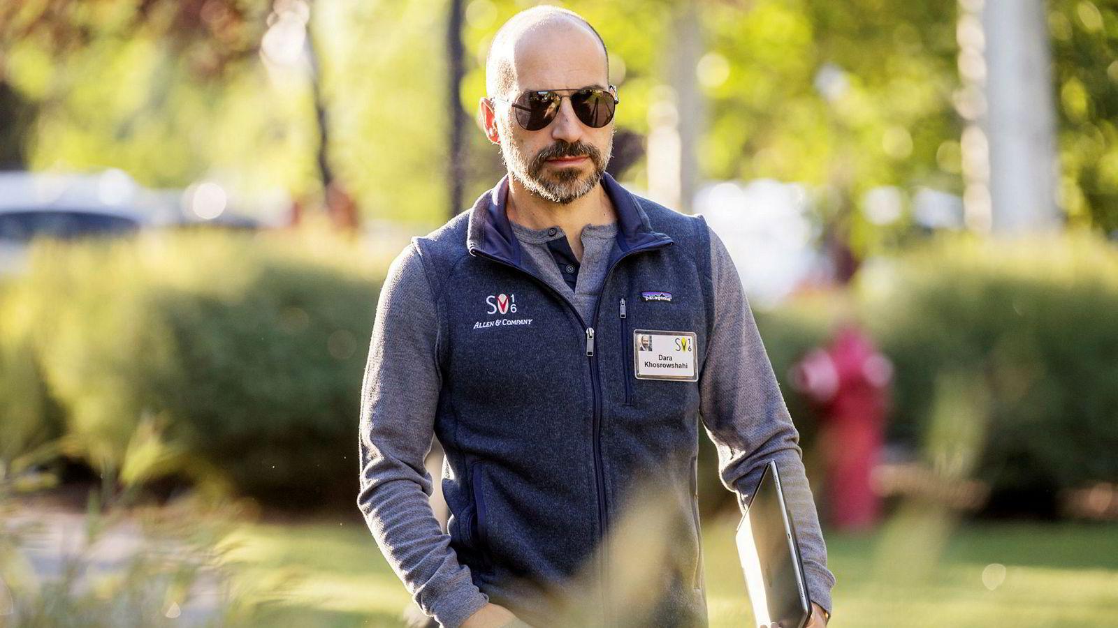 Dara Khosrowshahi går fra Expedia og hentes inn som ny toppsjef i Uber.