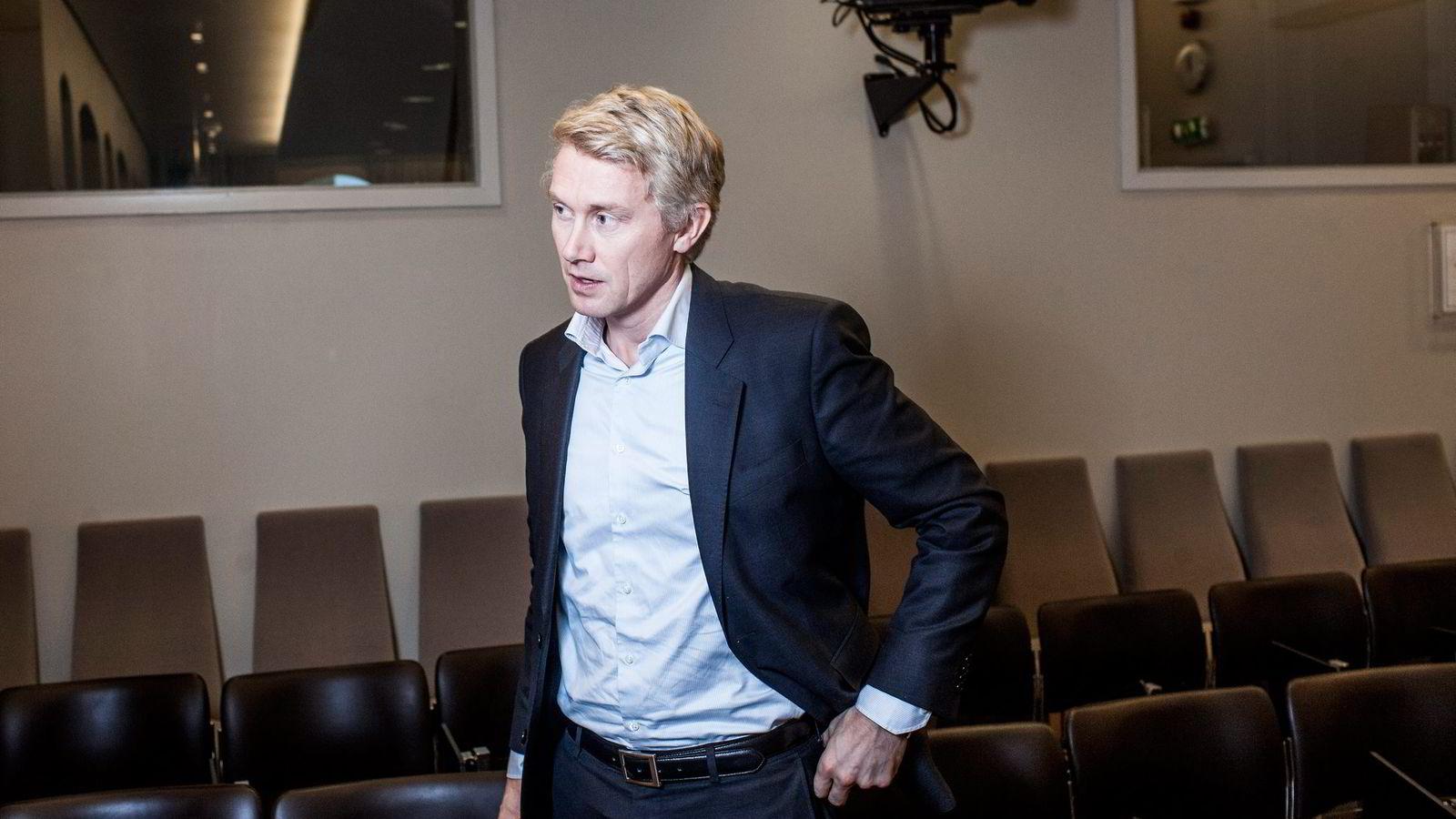 Administrerende direktør Olav T. Sandnes i TV 2 varslet onsdag sine ansatte om prosjektet «TV 2 i 2020».