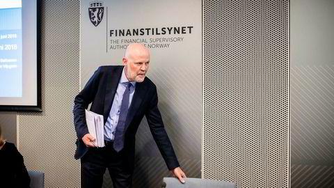 Finanstilsynets sjef Morten Baltzersens bekymringer blir ikke færre av at husholdningens gjeld fortsetter å øke.