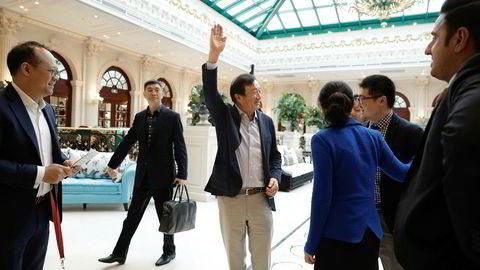 Huawei-gründer Ren Zhengfei kan vise til solid vekst i første halvår av 2019, til tross for kjeppene president Trump har stukket i hjulene deres.