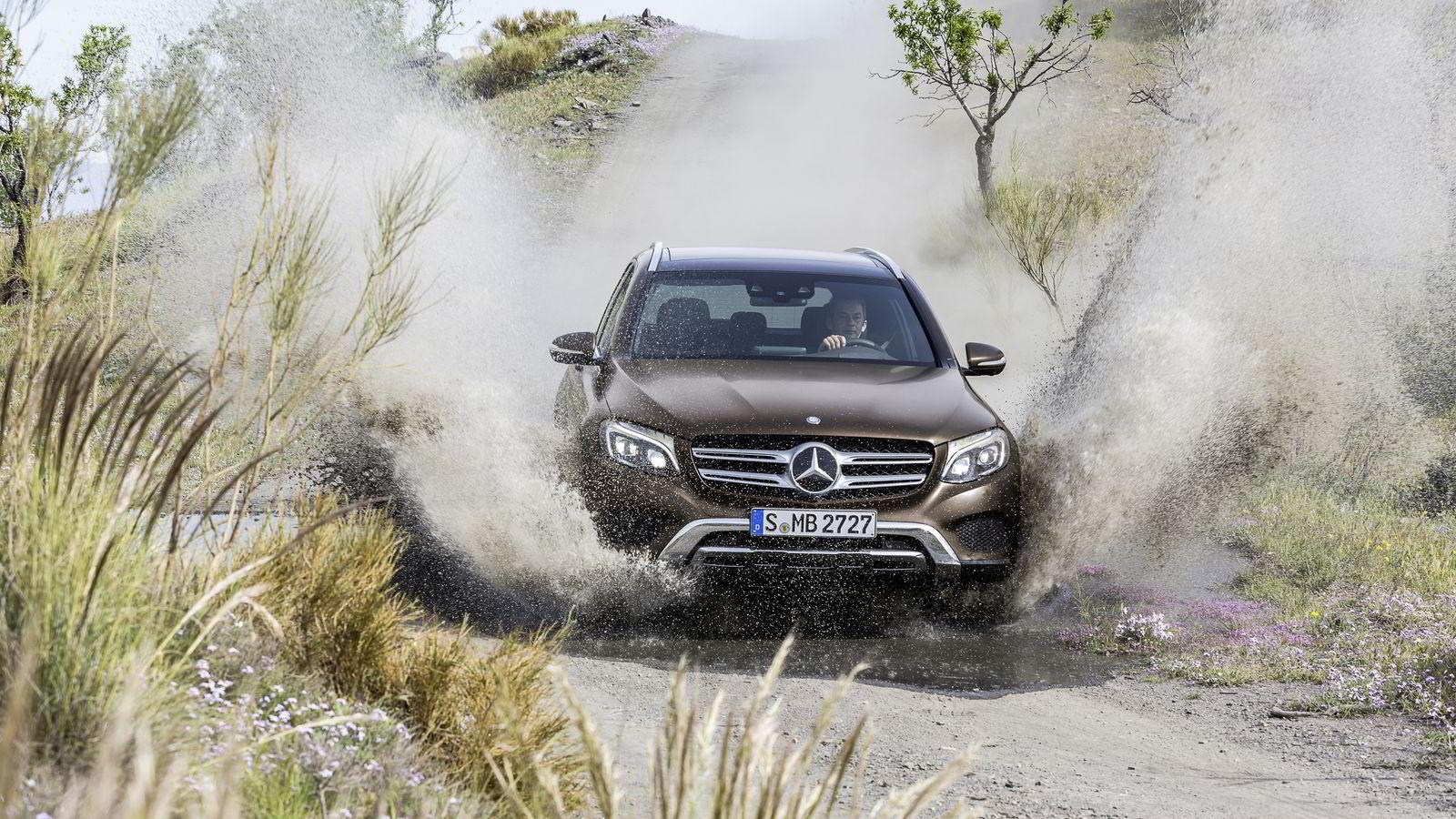 Mercedes-Benz GLC heter erstatteren til kompaktsuven GLK. Navnet er endret for å vise slektskapet til C-klassen. Bilen kommer til Norge i september.